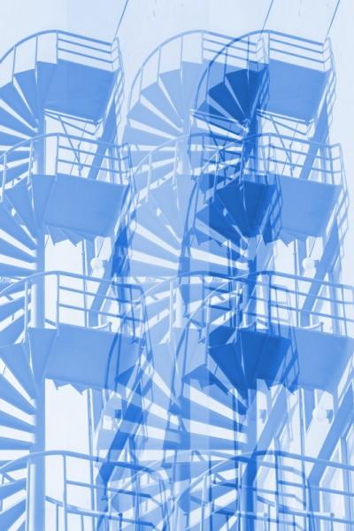 Design Akustikbild Stairs nach Maß