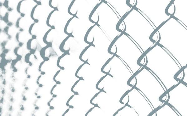 Design Akustikbild Fence nach Maß