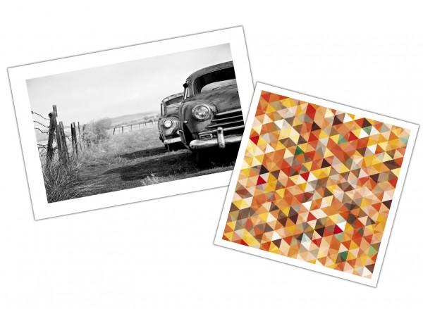FineArt Druck auf Hahnemühle Photo Rag® Satin 310 g/m² nach Maß, Preis nach m²