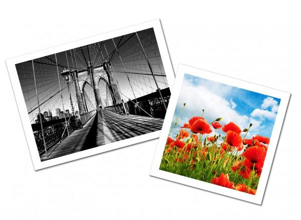 FineArt Druck auf Canson PhotoGloss Premium RC 270 g/m² (nach m²) ab