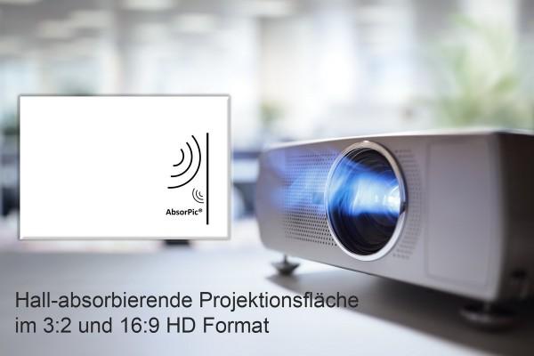 Beamer Projektor Schallabsorbierende Projektionsfläche nach Maß