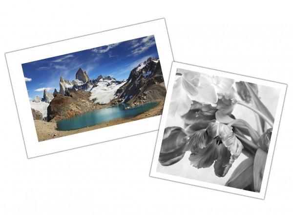 Fotodruck Pearl Effekt